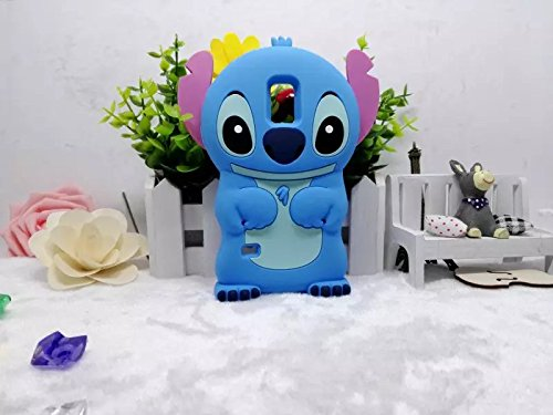 Galaxy Note 4 Case Cover ,Stingna 3D Cute Blue Animal Soft Silicone Case  Cover For Samsung Galaxy Note 4 + Free Gift (NOTE 4)
