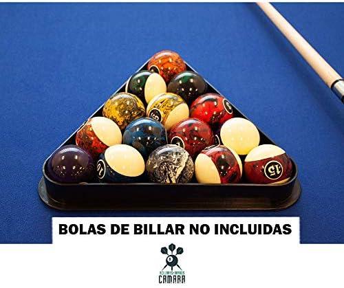 BILLARES Y DARDOS CAMARA Triángulo para Bolas de Billar Americano ...