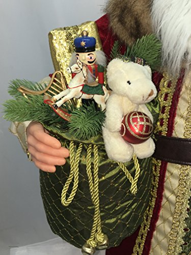 Windy Hill Collection 36'' Inch Standing Grand Santa Claus Christmas Figurine Figure Decoration 53603 by Windy Hill Collection (Image #1)