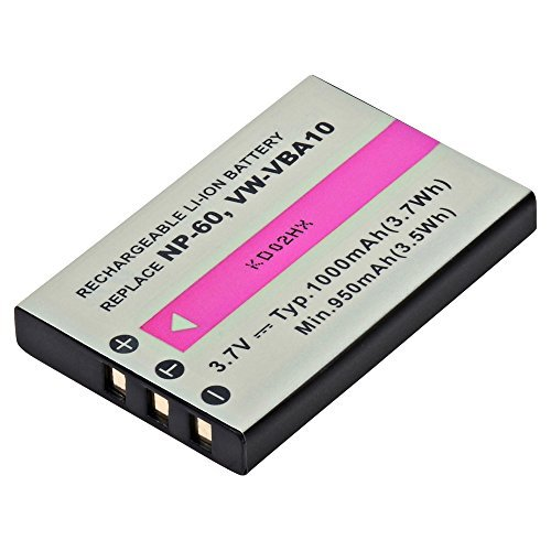 Camcorder, Digital Camera, MP3 Player Ultralast ULCGAS301A Lithium, Lithium Ion (ICR/CGR/LIR) Battery 3.7 ()