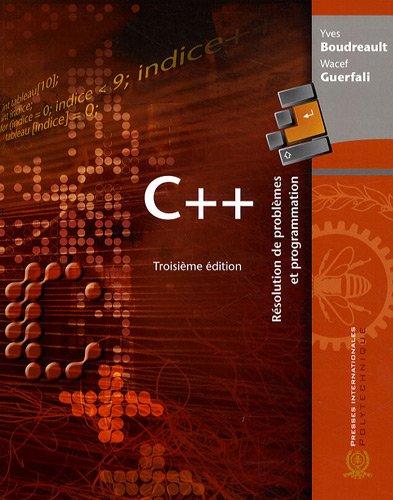 c++ apprendre et programmer de yannick gerometta pdf