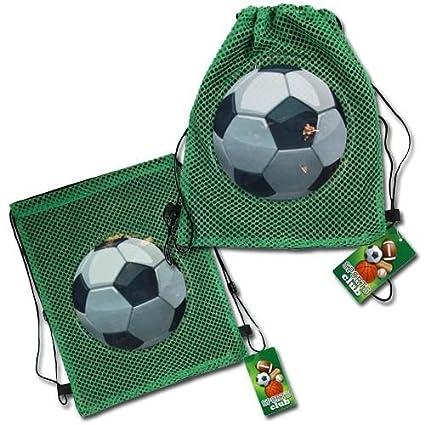 Amazon.com: (18 Count) Fútbol Sling Party Favor Bolsa de ...