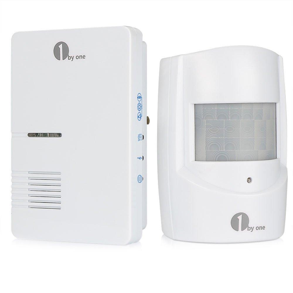 Sistema de alarma inalámbrico y resistente al agua para seguridad doméstica (36 melodías para escoger), de 1byone: Amazon.es: Bricolaje y herramientas