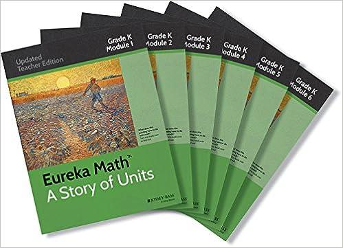 Amazon com: Eureka Math Set Grade K (9781118964453): Great