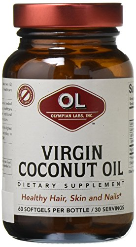 Olympian Labs Virgin Coconut Oil, 1000 mg, 120 Count