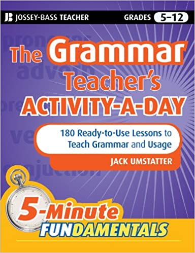 Amazon.com: The Grammar Teacher's Activity-a-Day: 180 Ready-to-Use ...