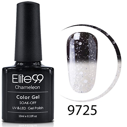 Elite99 Gel Nail Polish, Snowy Thermal Temperature Color Cha