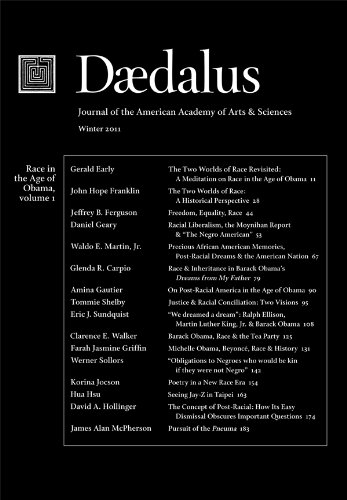 Books : Daedalus 140:1 (Winter 2011) - Race in the Age of Obama, Vol. 1