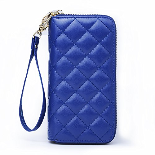 Katloo Leather Quilted Wristlet Organizer product image