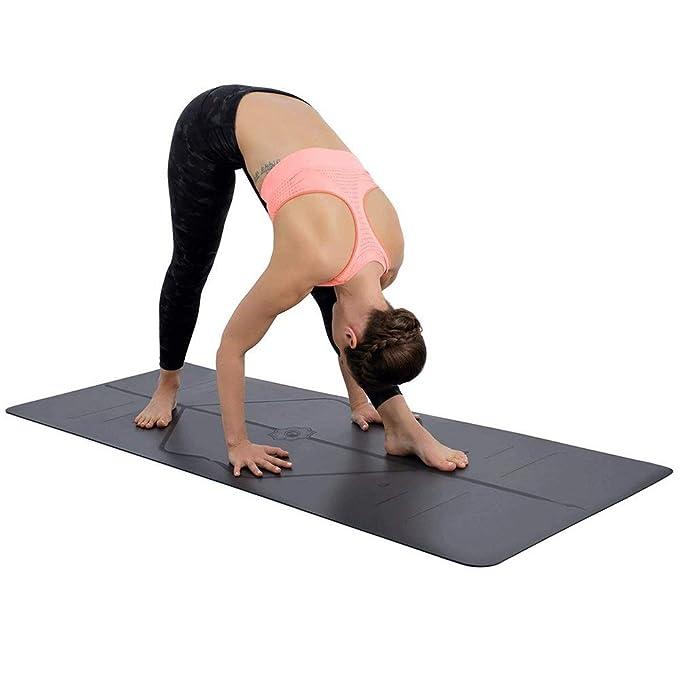 VSousT Estera de Yoga Estera de Goma Antideslizante de Goma ...