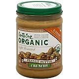 Santa Cruz Organic Light Roasted Crunchy Peanut Butter, 16 Ounce -- 12 per case.