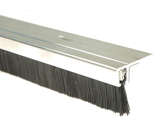 Cepillos de sello de meses 90.18 L 1 M Aluminio-perfil + PP-cepillo Torbürste: Amazon.es: Bricolaje y herramientas