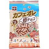 元祖柿の種 カフェオレ柿チョコ77g