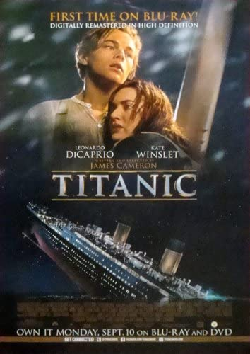 Amazon Com Titanic Movie Poster 27 X 40 Approx Prints Posters Prints