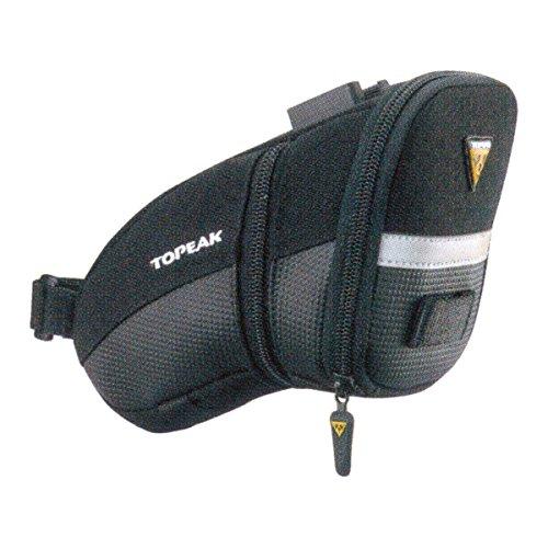 Topeak Satteltasche Mit Fixer F25 Aero Wedge Pack, Black, 20 x 10.5 x 12 cm, 0.98 Liter, TC2252B