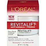 L'Oreal Paris Revitalift, Anti-Wrinkle, Firming Face and Neck Contour Cream, 1.7 Ounce, Health Care Stuffs