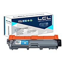 LCL Compatible for Brother TN225 TN221 TN225C TN221C 2200Pages (1-Pack,Cyan) Toner Cartridge for Brother HL-3140 CW/3150CDW/CDN/3170 CDW