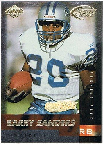 1999 Collectors Edge (1999 Collector's Edge Fury Gold Ingot #116 Barry Sanders)
