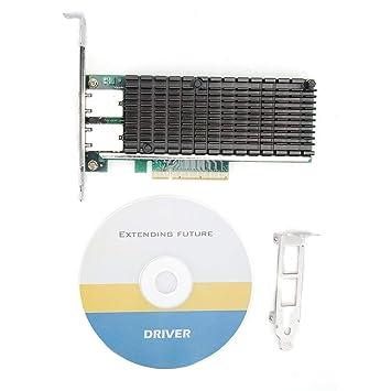 ASHATA Tarjeta de Red PCIE, Tarjeta de Red PCI-E X8 10 ...