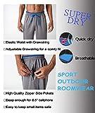 BIYLACLESEN Men Workout Pants Lightweight