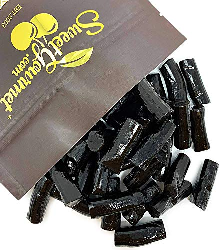 Imported Licorice - SweetGourmet Finnska Soft Sweet Black Licorice Bites from Finland, NON GMO, bulk 2 pounds