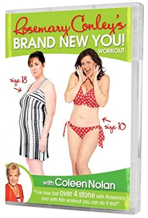 fafd952bf516d Rosemary Conley  s Brand New You Workout with Coleen Nolan DVD ...