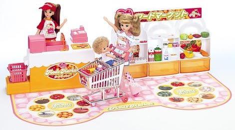 リカちゃん ハートヒルズのフードマーケット