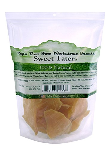 Papa Bow Wow Usa Sourced Sweet Potato Dog Treat, 6 Oz