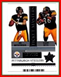 2005 Leaf Rookies and Stars Ticket Masters Silver Season #TM21 Ben Roethlisberger Jerome Bettis SERIAL #171/750 PITTSBURGH STEELERS Notre Dame Miami of Ohio offers