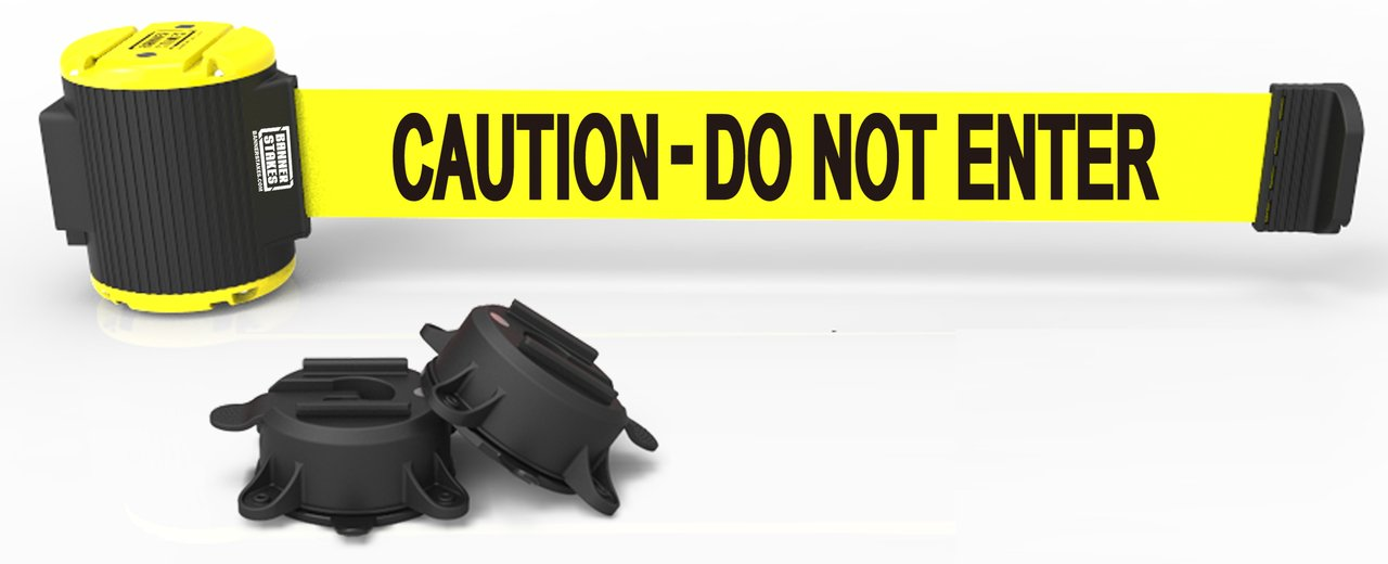 30' Magnetic Wall Mount Barrier, Caution - Do Not Enter MH5002