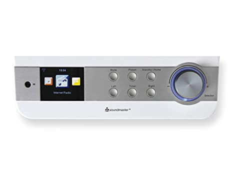 Soundmaster Ir1450we Under Cabinet Or Free Standing Fm Wifi Internet Kitchen Radio With Network Music Player Dnla Upnp Dual Alarm Cooking Timer