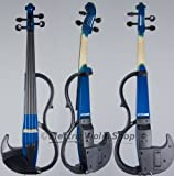 Yamaha SV-200 Silent Violin Performance Model Ocean Blue
