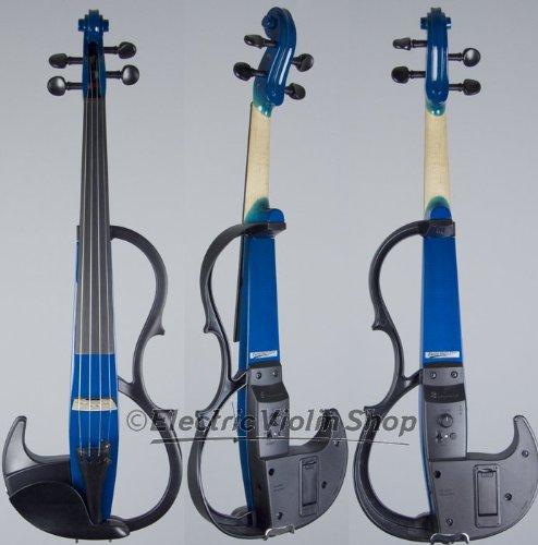 Yamaha SV-200 Silent Violin Performance Model Ocean Blue by Yamaha