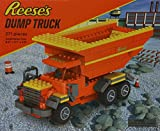 Reese's Dump Truck 271 Pieces Toy Brick Building System Hershy's Chocolate