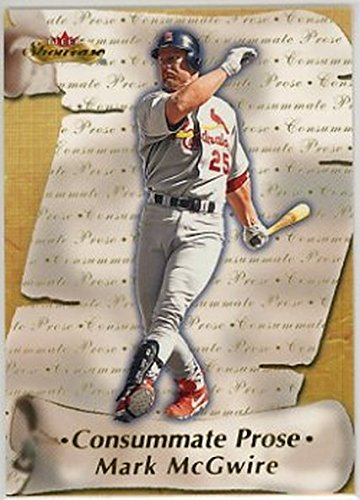 2000 Fleer Showcase Consummate Prose #CP15 Mark McGwire NM-MT Cardinals