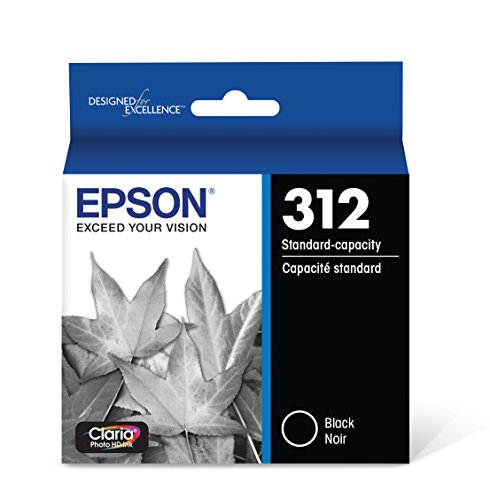 Epson T312120 Claria Photo HD Black Standard Capacity Cartridge Ink