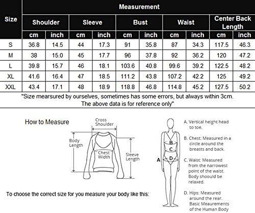 Ekouaer Nightgowns for Women Sleepshirt 3/4 Sleeves Nightshirts Full Length Sleep Dress S-XXL