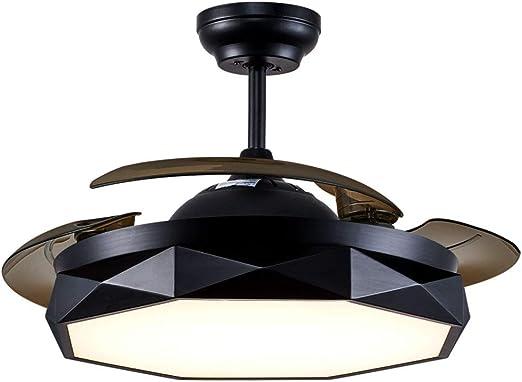 Ventilador De Moda De 42 Pulgadas Con Luz Led 4 Aspa Del ...