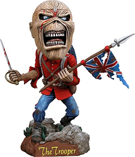 (NECA Iron Maiden Eddie The Trooper Head Knocker)