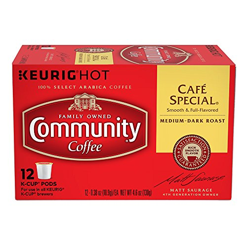 Community Coffee K Cups Cafe Special