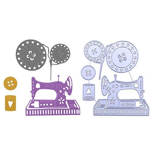 4 Ps/Set Mquina De Costura Botes de Metal Corte De Matrizes Para DIY Scrapbooking lbum de fotos Em Relevo Cartes de Papel Artesanato Decorativo