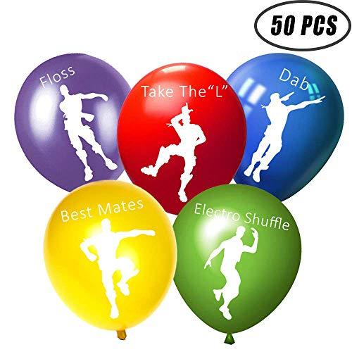 50 pcs Video Game Balloons,12