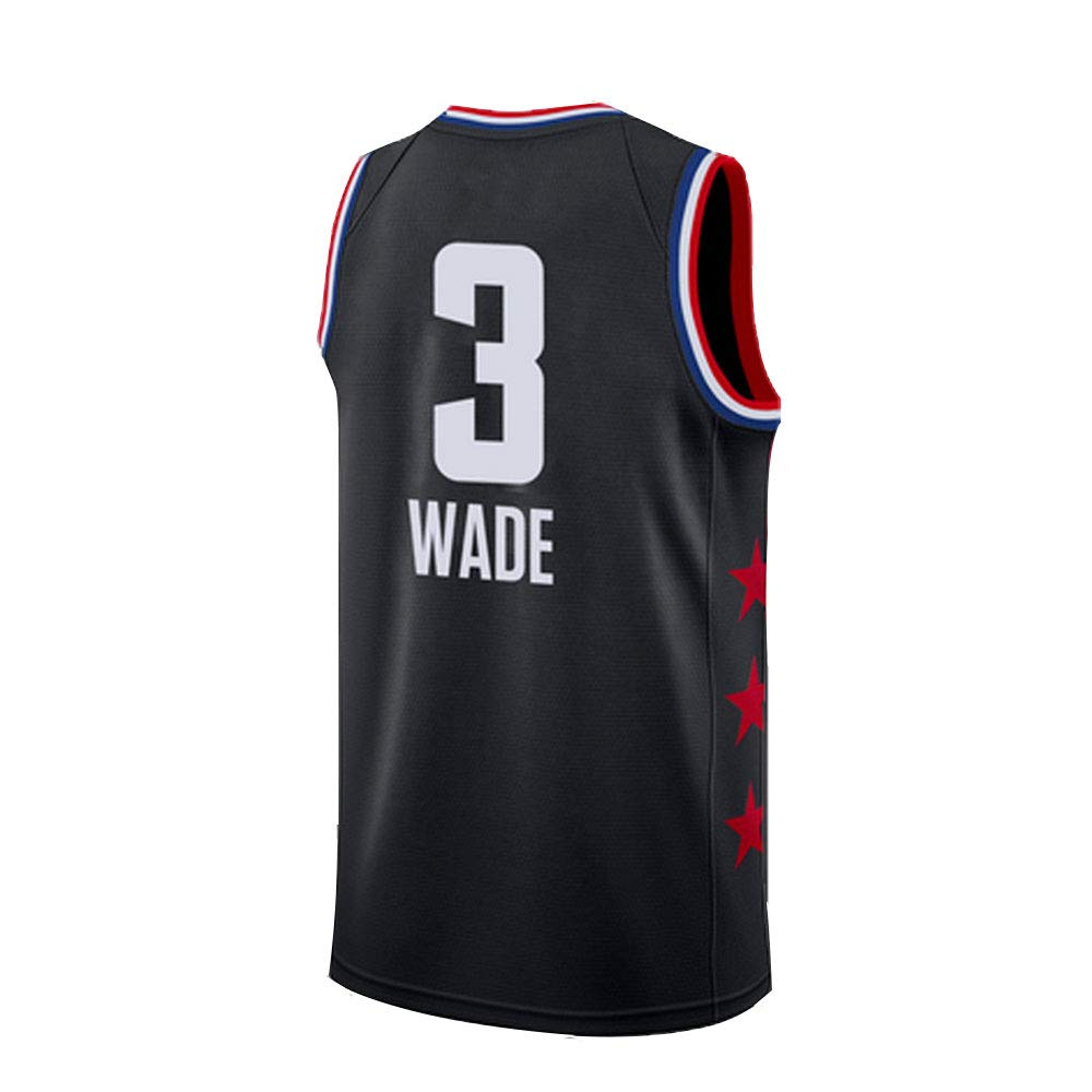 SEYE1° Camiseta Wade Miami Heat # 3,2019 NBA, Camisetas De ...
