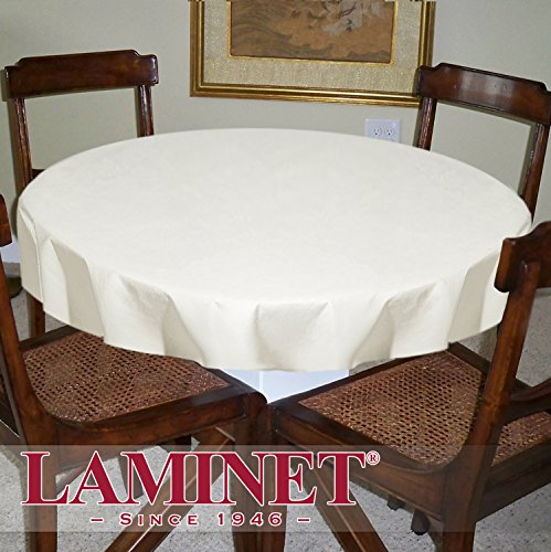 LAMINET Deluxe Cushioned Heavy-Duty Customizable Table Pads, 52'' Round, Heavy-Duty Table Pad by LAMINET