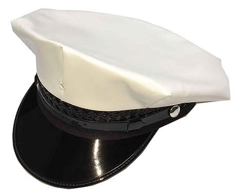 4762714f Jazz Brass Band Uniform Hat, 8 Point - White -: Amazon.co.uk: Clothing