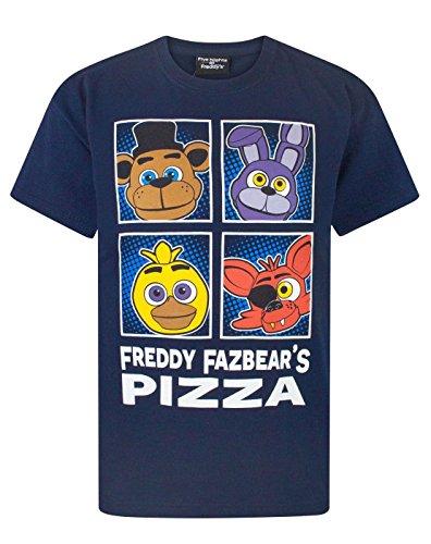 Five Nights At Freddy's Panels Boy's T-Shirt (13-14 (Cool T-shirts Uk)