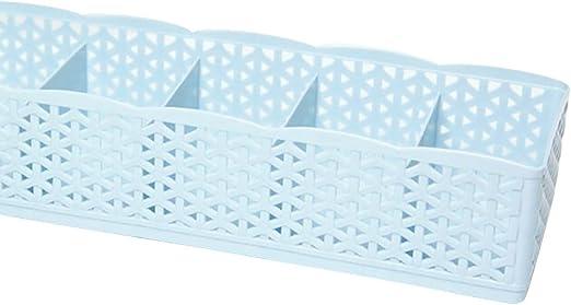 Drawer Bra Underwear Storage Box Sock Plastic Ties Divider Closet Organizer,