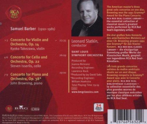 Barber - Concerto pour piano  51SBXSYBTsL