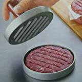 mingxiao Kitchen Hamburger Press Meat Mold Maker Pounder Metal Machine 12cm/4.8inch New