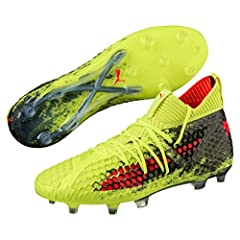Men's Puma Future 18.1 Netfit FG / AG football boots are a whole new line that aims to completely change the look of the game. Enjoy unique fins, flawless ball control, and explosive speeds. They feature a brand new top with an innovative Net...